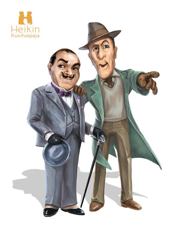 005_sleuths_poirot_hastings_character_illustration_fiction_HeikinKuvituspaja.jpg
