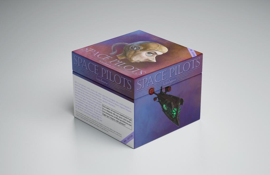 Malliesimerkki lautapelin tuotepakkauksesta jossa erottuva kuvitus.